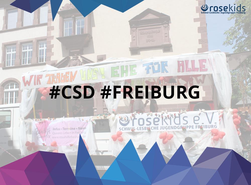 Mit den Kids zum CSD Freiburg 2017