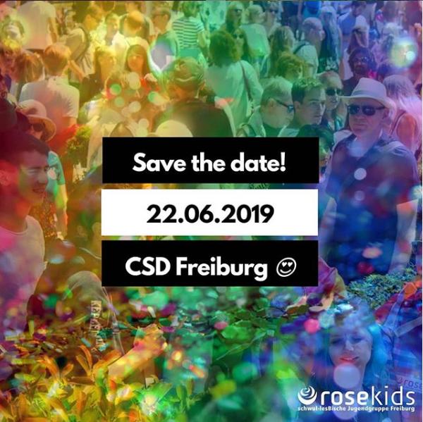 CSD Freiburg 2019 – jetzt anmelden